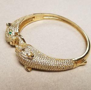 Panther Bangle Bracelet